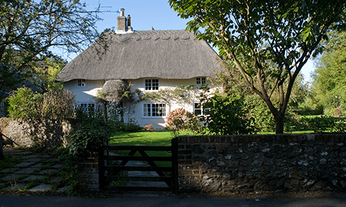 Thatched cottage near Southwick